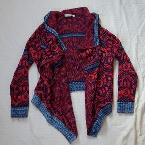 Cozy sweater/ cardigan (made in the USA)